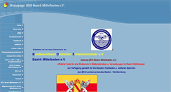 Preview of bds-bezirk-mittelbaden.de